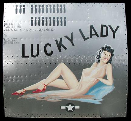 Arte en el fuselaje de bombarderos (USA) B29luckylady72